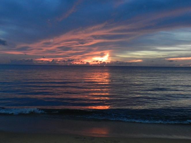 Sunset by Melissa Reyes Segarra
