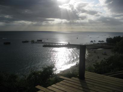Sunset at Aguadilla's Crash Boat.